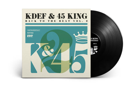 "K-Def & The 45 King - Back to the Beat Volume 2 - (12"" Vinyl LP)"