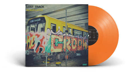 Klaus Layer - Lost Track (LP, Orange Vinyl)