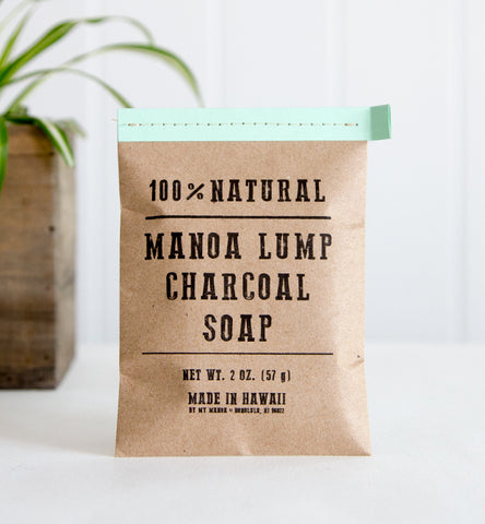 My Manoa - 2oz. Charcoal + Peppermint Soap