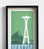 Seattle Travel Print