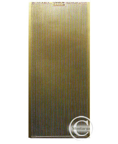 PC1082G Lines Straight Fine Gold
