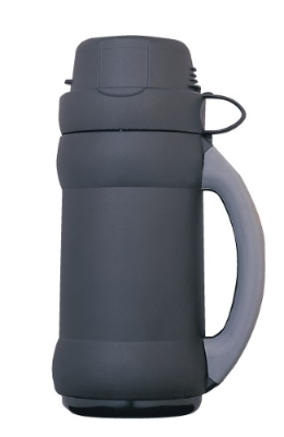 Thermos Flask Black /Grey 500ml with Cup