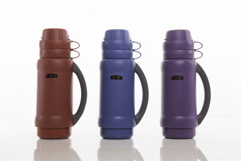 Thermos Flask 1L with 2 Cups