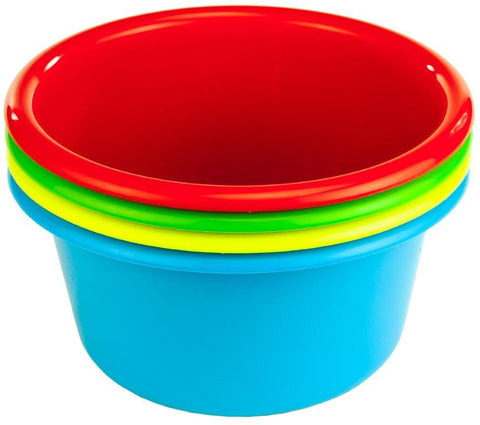 Cuisine Queen Coloured Mixing Bowl 1.6L Set 4