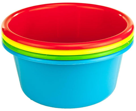 Cuisine Queen Coloured Mixing Bowl 2.6L Set 4
