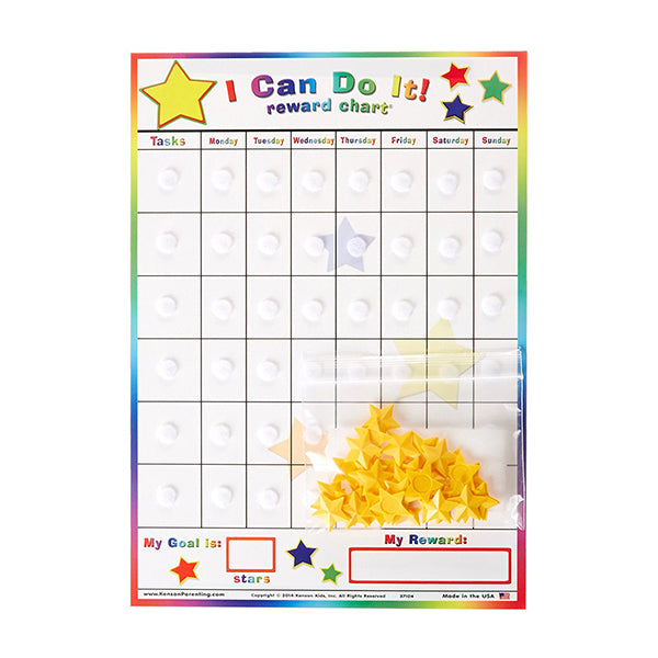 Replacement Board and Stars - Kenson Parenting Solutions