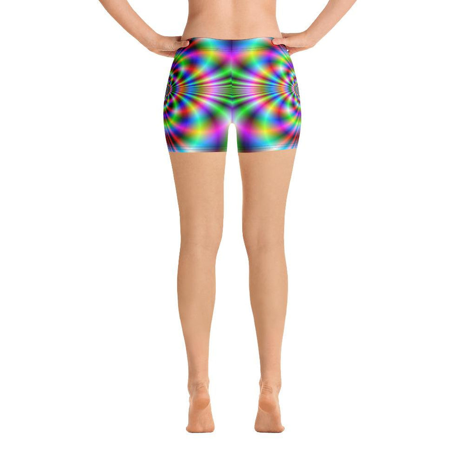 PSYCHEDELIC Shorts - US FITGIRLS