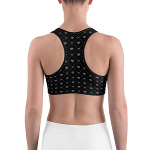 CONNECTED DIAMONDS Sports bra - US FITGIRLS