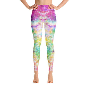 Colorful Tie Dye Yoga Leggings - US FITGIRLS