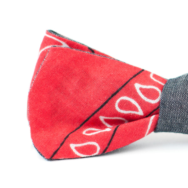 Vintage Bandana Double Sided Bow Tie