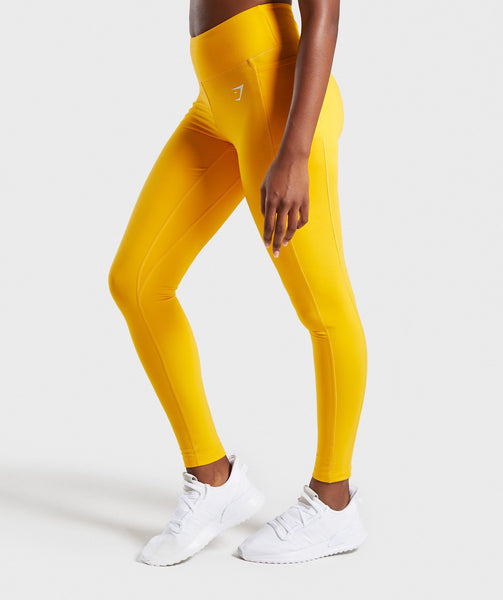 Gymshark Dreamy Leggings 2.0 - Citrus Yellow 2