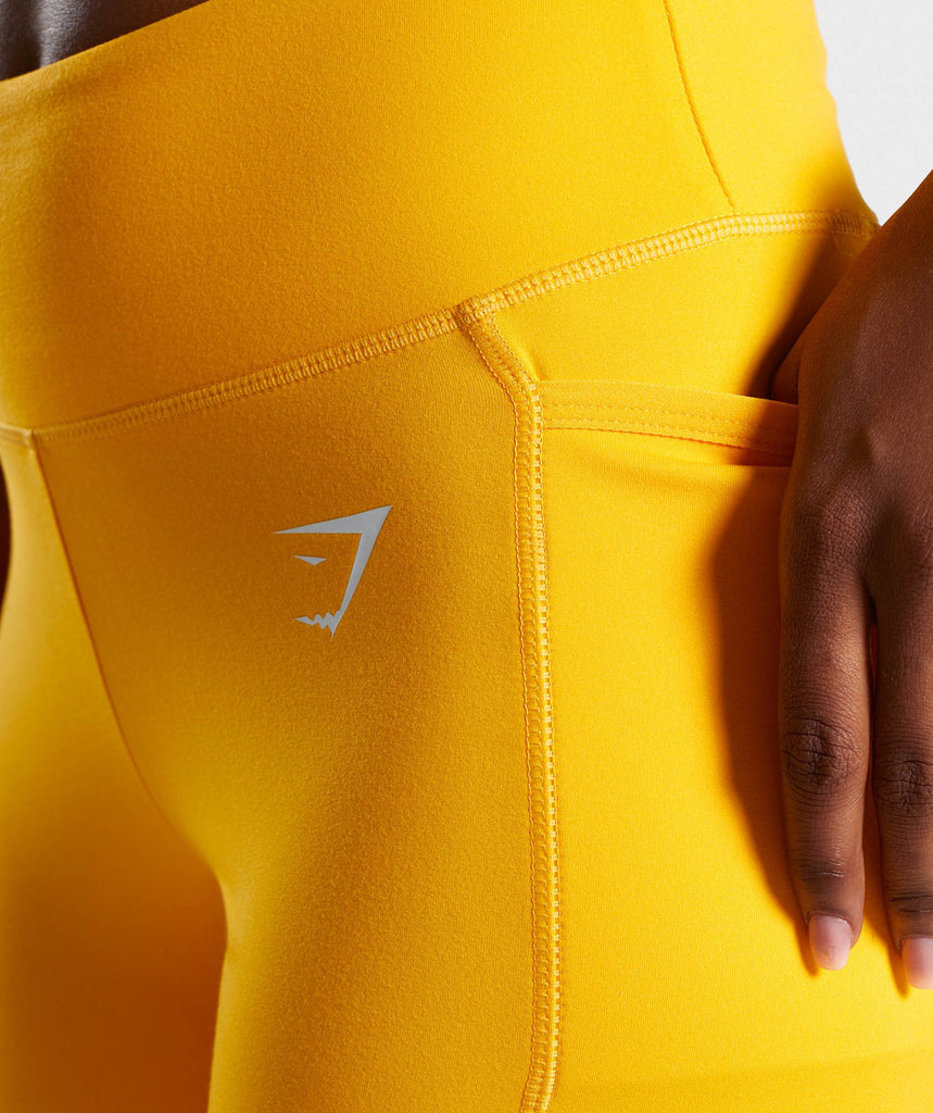 Gymshark Dreamy Leggings 2.0 - Citrus Yellow 5