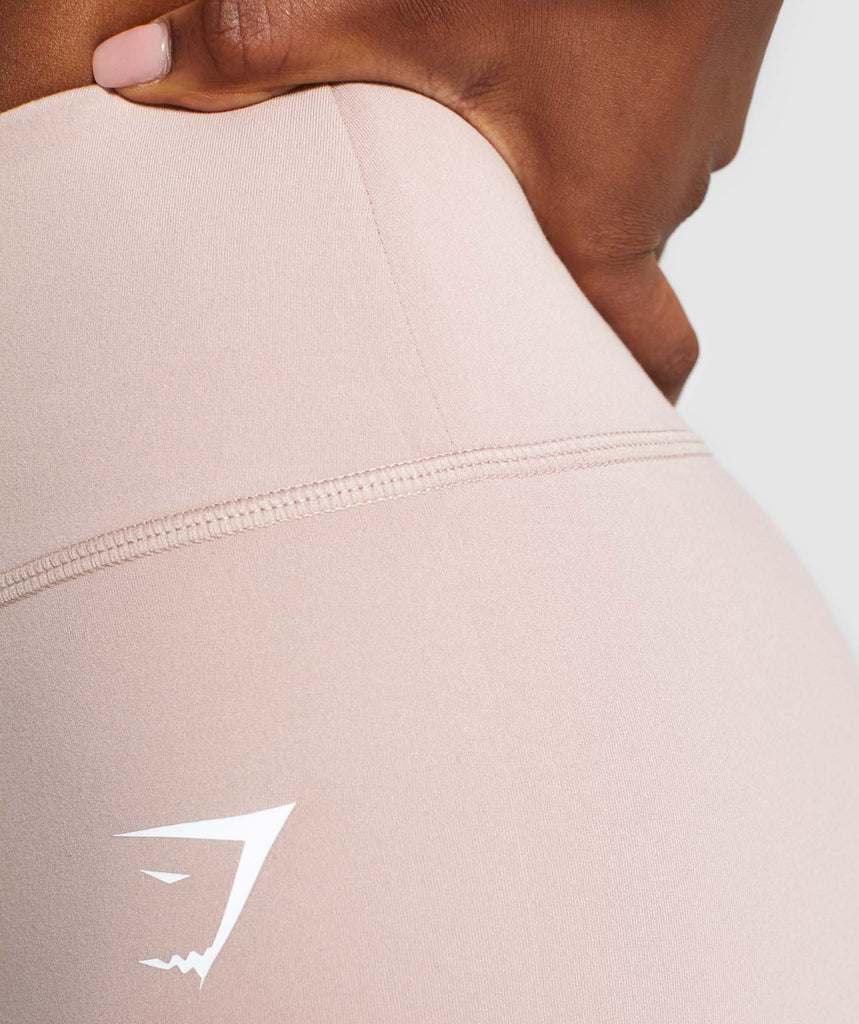 Gymshark Dreamy High Waisted Shorts  - Taupe 6