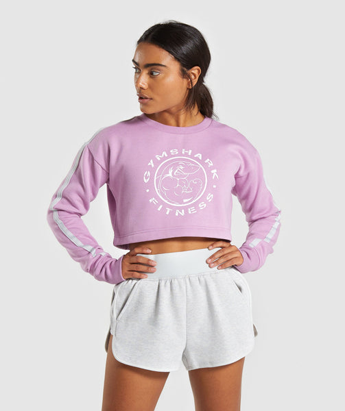 Gymshark Legacy Fitness Sweater - Pink 4