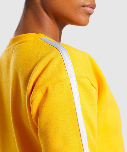 Gymshark Legacy Fitness Sweater - Yellow 3