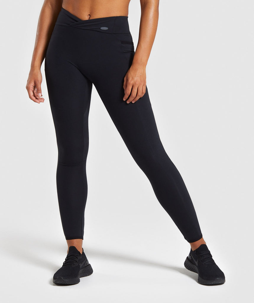 Gymshark Poise Leggings - Black 1