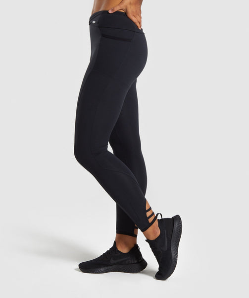 Gymshark Poise Leggings - Black 2
