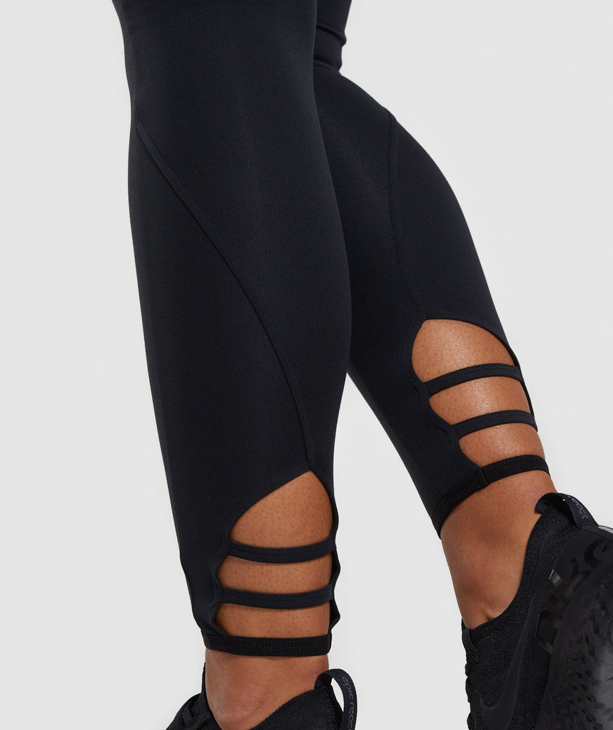 Gymshark Poise Leggings - Black 6