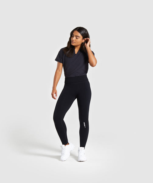 Gymshark Power Down Bodysuit - Black 4