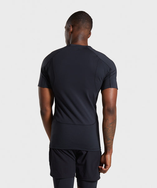 Gymshark Premium Baselayer T-Shirt - Black 1