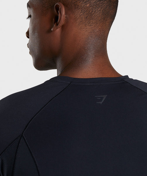 Gymshark Premium Baselayer T-Shirt - Black 4