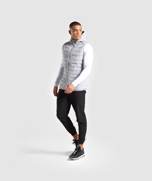 Gymshark Sector Gilet V2 - Light Grey 3