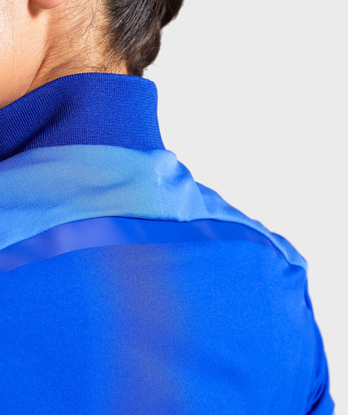 Gymshark Turbo Track Jacket - Cobalt Blue 3