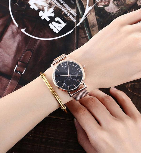 CREATIVE MARBLE WRISTWATCH. - YULALI