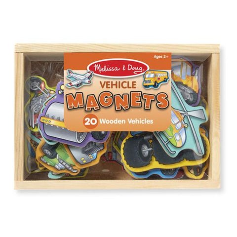 Vehicles Magnets | Melissa and Doug | Lucas loves cars