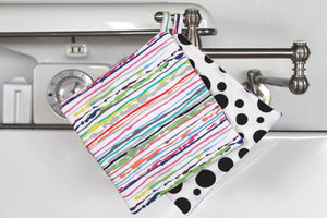 Paint Drip Potholder (more colors available)