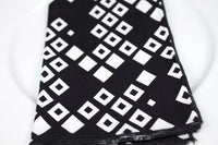 Tribal Diamond Napkins (Set of 4)