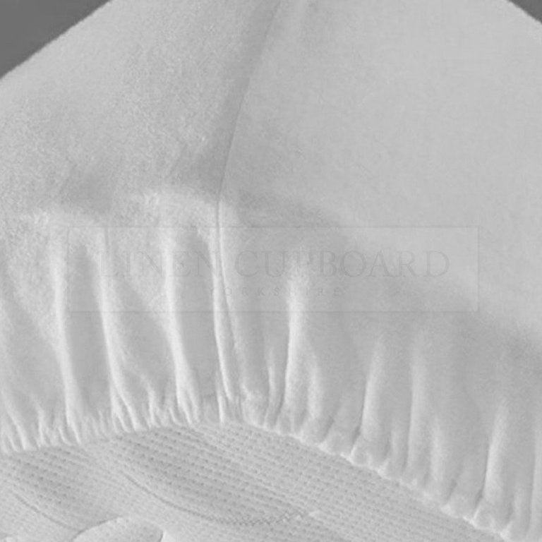 Superior Luxury Flannelette White Extra Deep Fitted Sheets