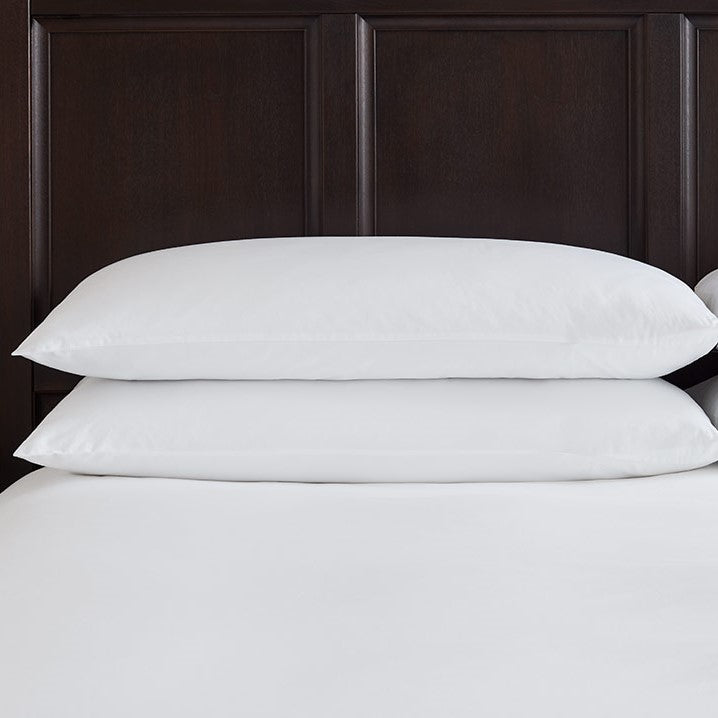 Classic 100% Cotton Percale Kingsize Pillowcase Pair
