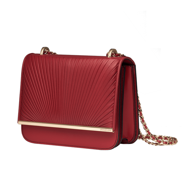Ballet Lesson Small Chain Bag Red