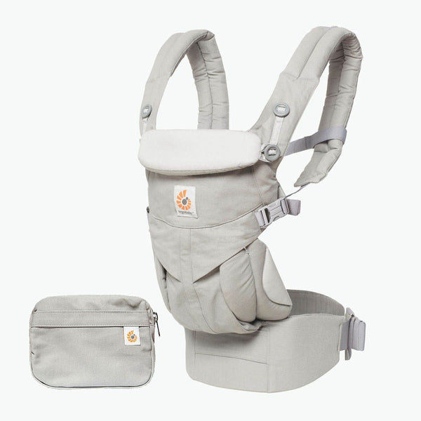 Omni 360 Baby Carrier: Pearl Grey