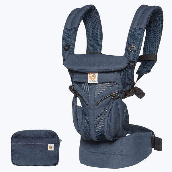 Omni 360 Baby Carrier: Cool Air Mesh-Midnight Blue