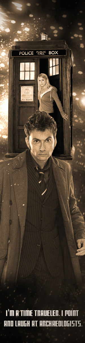 Doctor Who Bookograph Metal Bookmark