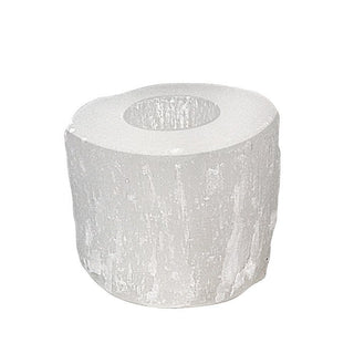 Selenite Candle Holder - Wings Hawai'i