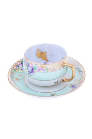 Galaxy Mermaid Teacup Set