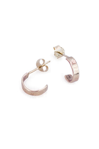 Cuff Hoop Stud Earrings