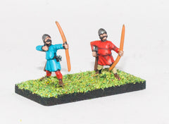 MID28 Light Bowmen in pointed helmets