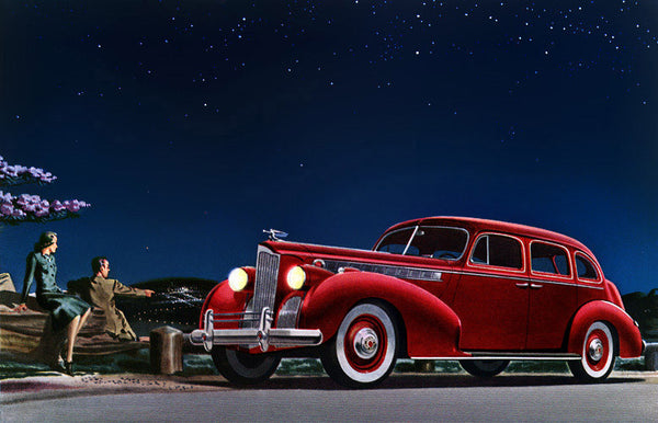 1940 Packard Super-8 One-Sixty Touring Sedan