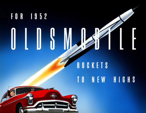 1952 Oldsmobile 'Rockets to New Highs'