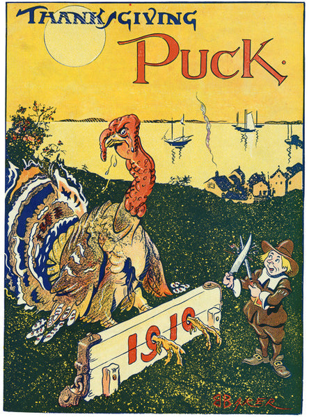 Thanksgiving Puck: 1910