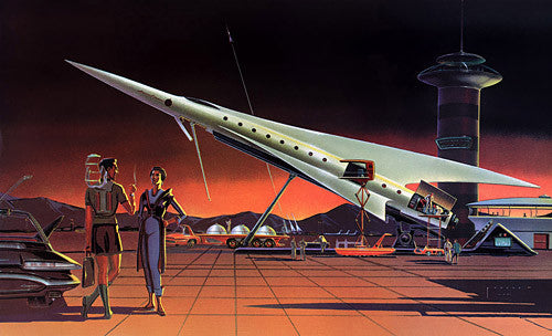 Spaceport of the Future poster