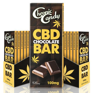 Chronic Candy CBD Chocolate Bar | CBD Edibles | AndHemp.com
