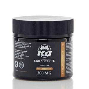 Knockout CBD Capsules - Soft Gels