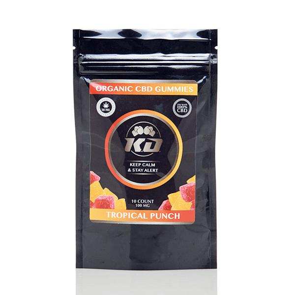 Knockout CBD Gummies - Tropical