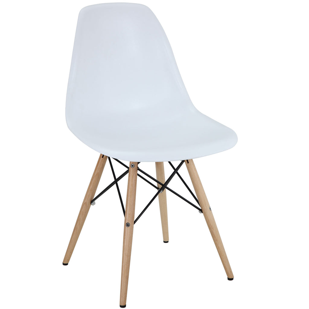 Modway EEI-180-WHI Pyramid Dining Side Chair White
