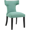 Modway EEI-2221-LAG Curve Fabric Dining Chair Laguna